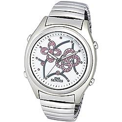 Atomic Talking Watch - Sets Itself Senses Women's Crystal Stylist Talking Watch (1206)(M104)