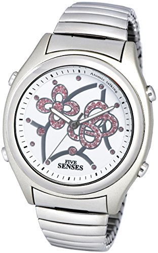 Atomic Talking Watch - Sets Itself Senses Women's Crystal Stylist Talking Watch (1206)(M104)