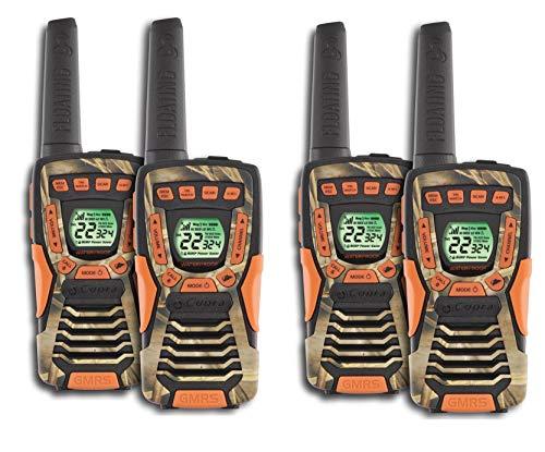 - COBRA CXT1045R-FLT 37 Mi Waterproof Floating 2-Way Radio Walkie Talkies 4-Pack