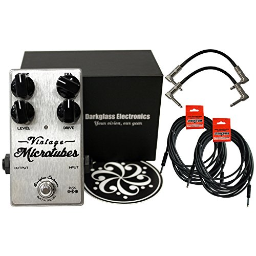 Darkglass Vintage Microtubes Bass Overdrive w/ 4 Free Cables! by Darkglass