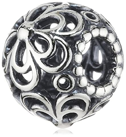 Pandora Women's Genuine Sterling Picking Daisies Charm 790965, Silver - Pandora Fiore Charm