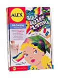 "ALEX Toys Silk Scarf Painting Kit - 45"" Silk Scarf and 28"" Silk Bandana"