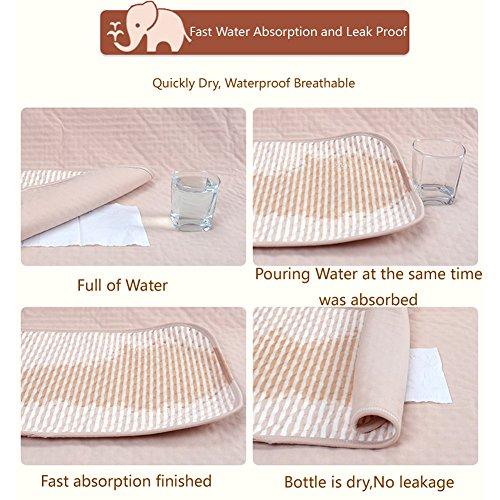 Baby Waterproof Mattress Crib Bed Pads Organic Cotton