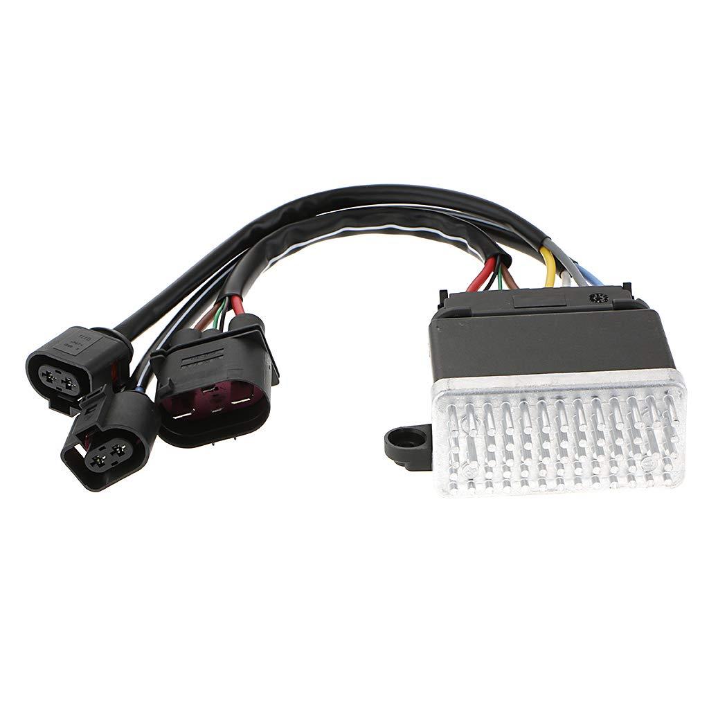 Flameer Car Parts Cooling Fan Control Unit Audi A4 A5 A6 A7 Q3 Q5