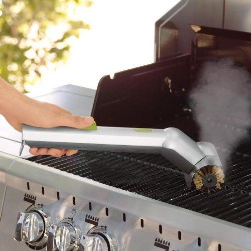 grill brush motorized - 9