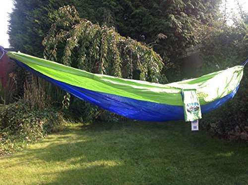 portable-lightweight-outdoors-nylon-fabric-travel-parachute-camping-hammock-blue-green