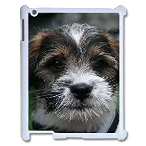 3D Cases For IPad 2,3,4 2D, Puppy Cases For IPad 2,3,4 2D, Tyquin White