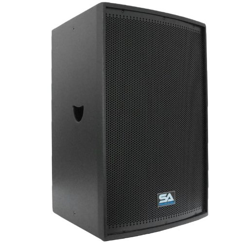 Seismic Audio - Lava-15Single - Premium Black 15'' Loudspeaker or Monitor with Titanium Horn by Seismic Audio