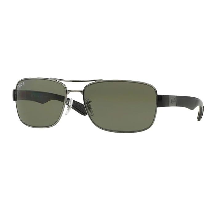 Ray-Ban 0Rb3522, Gafas de Sol para Hombre, Gunmetal, 64: Amazon.es: Ropa y accesorios