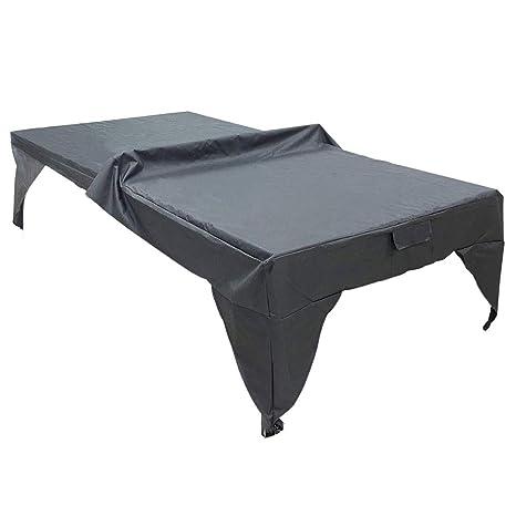 Almabner - Funda para Mesa de Ping Pong, a Prueba de Sol, Lluvia ...