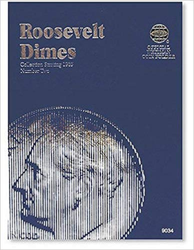 [0307090345] [9780307090348] Roosevelt Dimes Folder 1965-2004 (Official Whitman Coin Folder) – Hardcover
