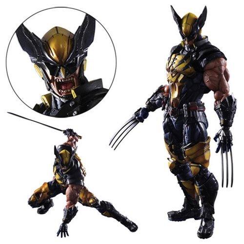 - Square Enix Marvel Universe Variant Wolverine Play Arts Kai Action Figure