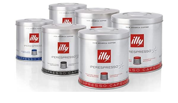 Illy Iperespresso 126 Coffee Capsules - Mixed Case by illy: Amazon ...