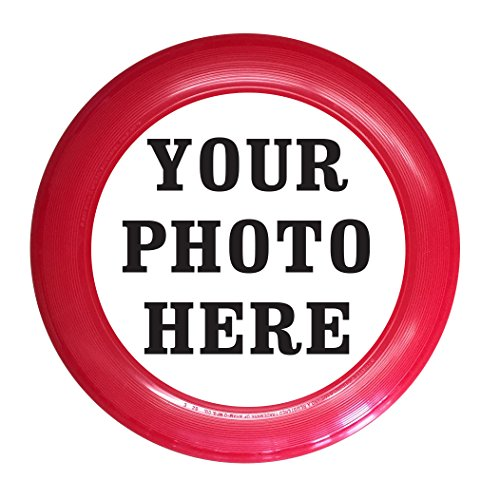 Infusion Custom Photo or Company Ultimate Frisbee Disc - 175g, Red