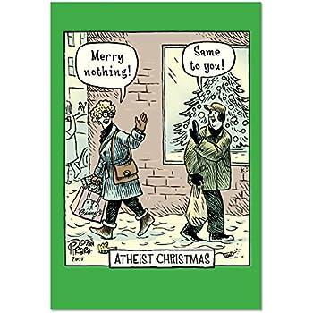 Amazon b2513xsg box set of 12 box of atheist christmas b2513xsg box set of 12 box of atheist christmas christmas cards funny christmas greeting cards m4hsunfo