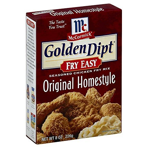 (Golden Dipt Original Homestyle Seasoned Chicken Fry Mix#44; 8 oz#44; - Pack of 12 by McCormick )