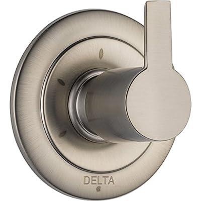 Delta Compel 3-Setting Stainless Steel Finish Shower Diverter with Valve D196V