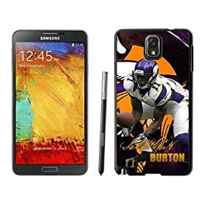 NFL&Minnesota Vikings Stephen Burton Samsung Galalxy Note 3 Case Gift Holiday Christmas Gifts cell phone cases clear phone cases protectivefashion cell phone cases HLNB605583917