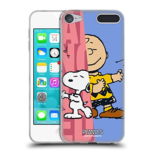 (Official Peanuts Snoopy & Charlie Halfs and Laughs Soft Gel Case for Apple iPod Touch 6G 6th Gen)
