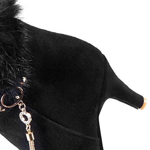 Stivale Aiyoumei Nero Donna Classico Donna Nero Classico Aiyoumei Aiyoumei Nero Stivale Stivale Stivale Classico Donna 7xq87ARw