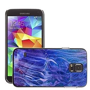 Etui Housse Coque de Protection Cover Rigide pour // M00150721 Glass Fusingglas Fondo Macro // Samsung Galaxy S5 S V SV i9600 (Not Fits S5 ACTIVE)