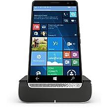 HP Elite X3 Y1M46EA#ABU 64GB eMMC Dual-SIM 4G/LTE Smartphone with Desk Dock (Graphite) - International Version with No Warranty