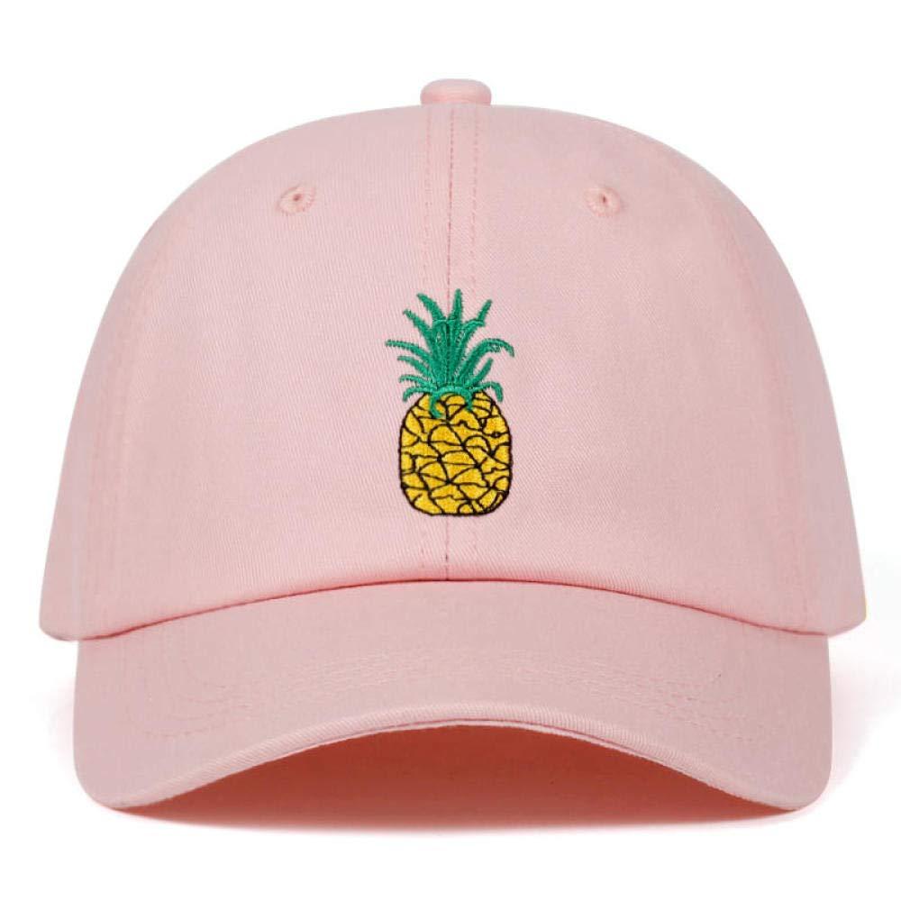 Baseball Cap Pineapple Embroidery Women Men 100/% Cotton Dad Cap Fruit Snapback Hip Hop Trucker Hat