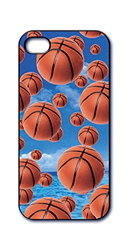 Dimension 9 Slim 3D Lenticular Cell Phone Case for Apple iPhone 5 or iPhone 5s - Basketballs Sports