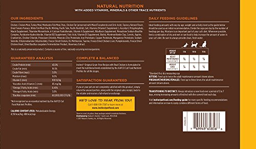 Instinct Original Grain Free Recipe with Real Chicken Natural Dry Cat Food by Nature's Variety, 11 lb. Bag by Instinct (Image #6)