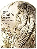 Cheap Napco Memorial Angel Stepping Stone/Plaque, 16.5″