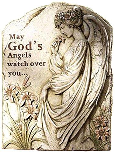 (NapCo Memorial Angel Stepping Stone/Plaque, 16.5