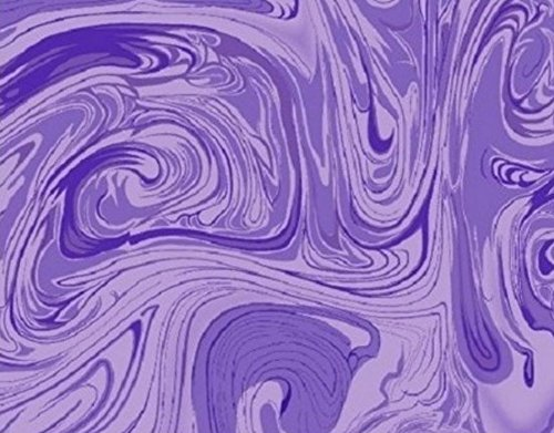 Marblecious Light Purple Fabric by the ()