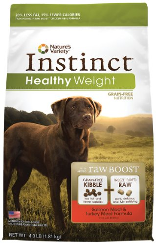Instinct Grain-Free Healthy Weight Salmon Meal and Turkey Meal Formula Dry Dog Food, My Pet Supplies