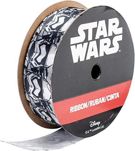 Offray 129454 Star Wars Ribbon 7/8x9'-Storm Troopers]()