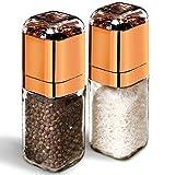 Salt and Pepper Grinder Set | Mill and Shakers Kit | Vintage Vase...