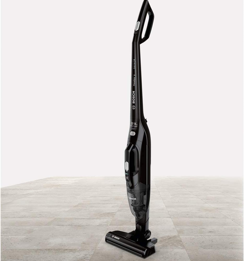 Bosch Readyy Lithium Serie|4 Aspirador Escoba y de Mano sin Cables, 2 Velocidades, Negro: Amazon.es: Hogar