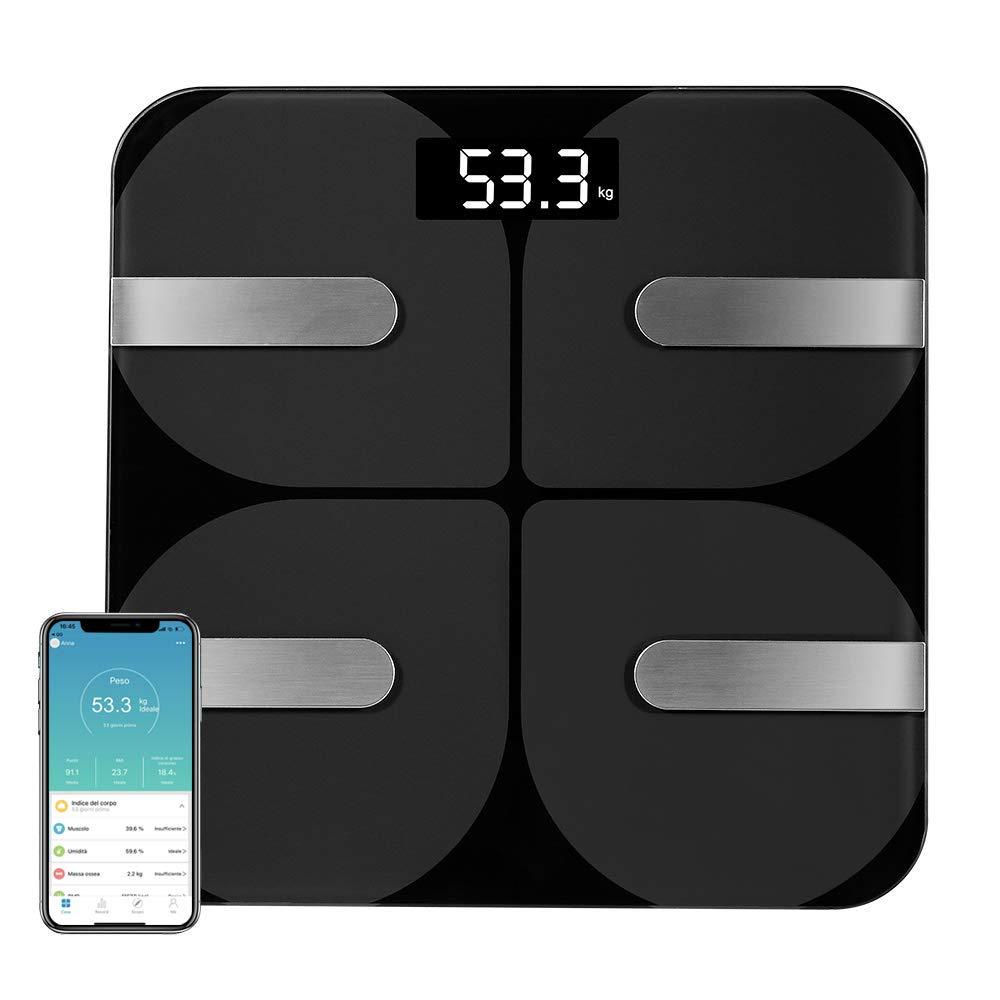 Coralov Bilancia per il grasso corporeo con APP