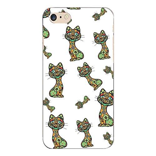 "Disagu Design Case Coque pour Apple iPhone 7 Housse etui coque pochette ""Lustige Katzen"""