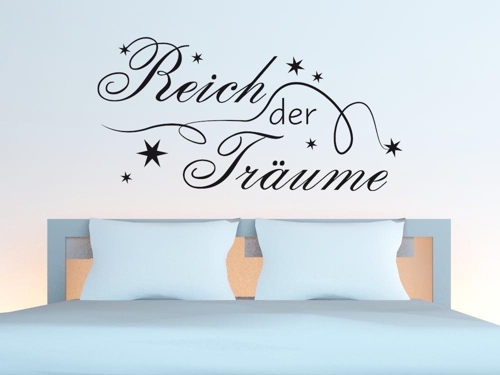 GRAZDesign GRAZDesign GRAZDesign Schlafzimmer Wandtattoo Reich der Träume - Home Dekoration modern Sterne - Wandtattoo Deko über Bett   113x57cm   670169_57_070 B01N7N6R3P Wandtattoos & Wandbilder 47bd61