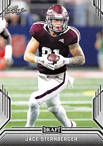 Jace Sternberger Football Card (Texas A&M Aggies, Green Bay Packers) 2019 Leaf Draft #35 Rookie