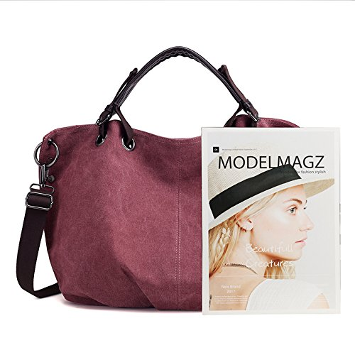 Vintage Nameblue Canvas Bags Hobo Girl's Women 973 khaki Handbag Casual Bag Bucket Canvas Body Shouder Bag Bag Bag Cross Messenger AZARz4