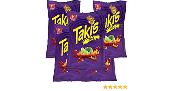 TAKIS FUEGO 56g (Box with 5 bags)