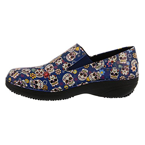 Blue Skulls Spring Women's Step Ferrara Work Shoe wnnBvqaO