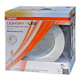 OSRAM Sylvania LED Recessed Smart dimmable LIGHTIFY Tunable White / RT 5/6 inch / 10W LED Light 65 Watt Equivalent (Recessed Smart LED)