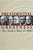 img - for Presidential Greatness by Marc Karnis Landy (2000-03-01) book / textbook / text book