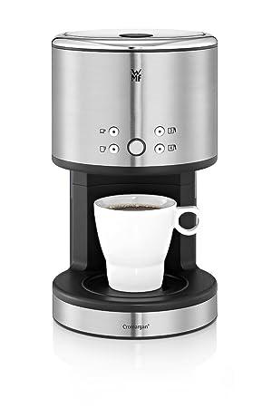 6fe9d2e090e WMF Küchenminis Aroma One 1-Tasse Kaffeemaschine, mit Glaskanne,  Filterkaffee, 1-