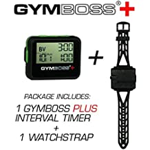 Gymboss PLUS Interval Timer and Stopwatch + Gymboss Watch Strap - Bundle