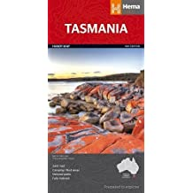 Tasmania State NP Handy Map 1 : 165K Hema