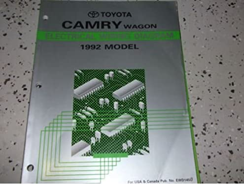 1992 toyota camry wagon electrical wiring diagram troubleshooting 1989 Toyota Camry Electrical Wiring Diagram