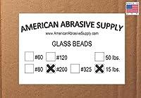 Glass Bead #200 Mesh Blasting Abrasive (15 lbs.)